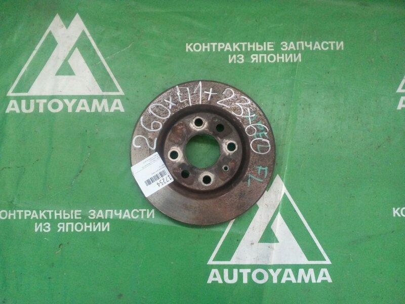 Тормозной диск Opel Vita F08 Z14XE передний (б/у)