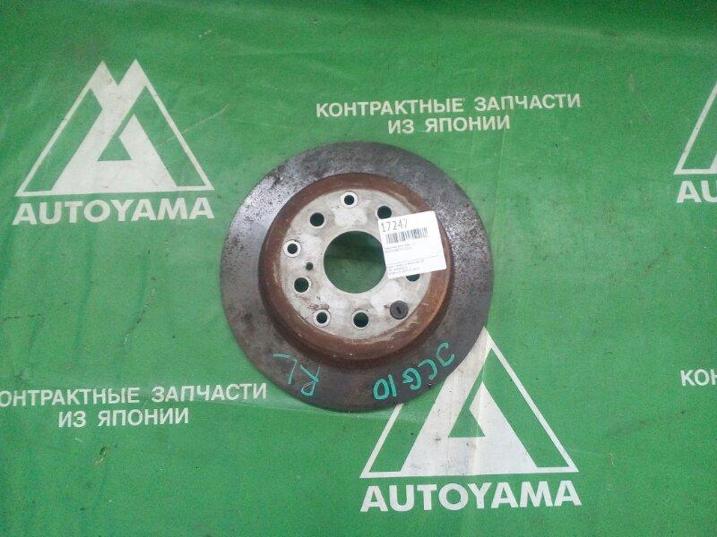 Тормозной диск Toyota Brevis JCG10 задний левый (б/у)