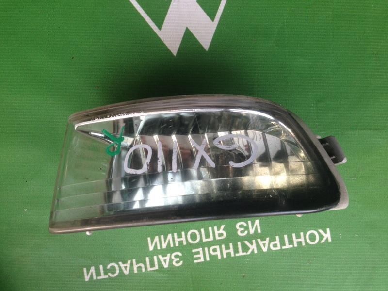 Туманка Toyota Mark Ii GX110 1GFE передняя правая (б/у)