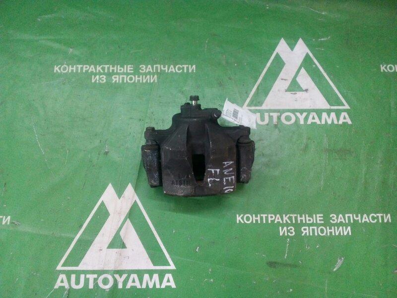 Суппорт Toyota Wish ANE10 1AZFSE передний левый (б/у)