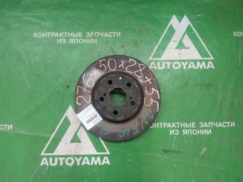 Тормозной диск Toyota Wish ANE10 1AZFSE передний (б/у)
