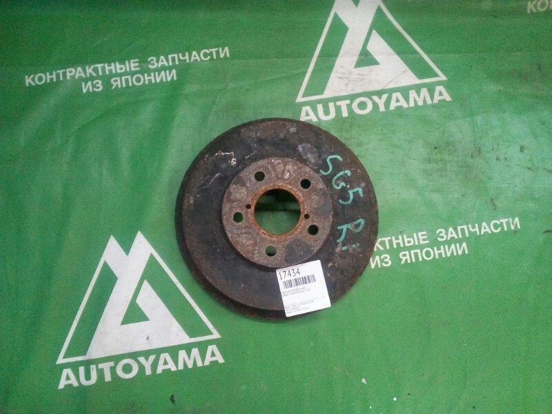 Тормозной барабан Subaru Forester SG5 EJ205 задний (б/у)