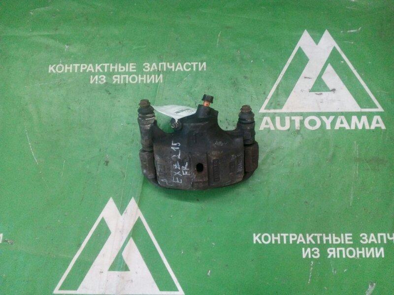 Суппорт Toyota Raum EXZ15 5EFE передний правый (б/у)