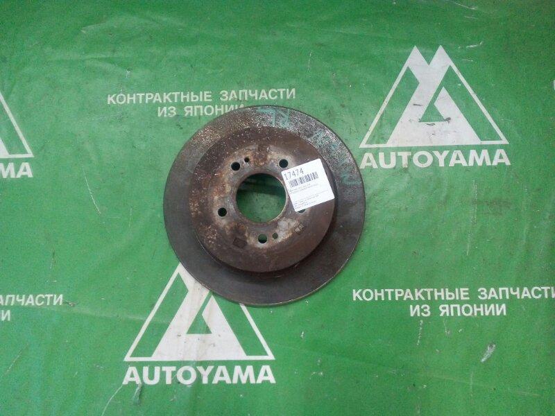 Тормозной диск Mitsubishi Grandis NA4W 4G69 задний левый (б/у)