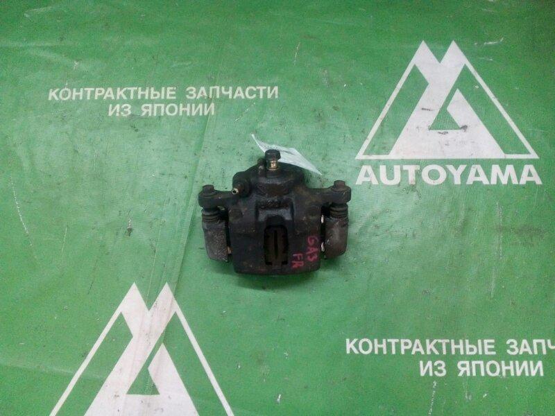 Суппорт Honda Logo GA3 D13B передний правый (б/у)