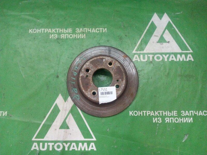 Тормозной диск Nissan Primera P11 QG18 задний (б/у)