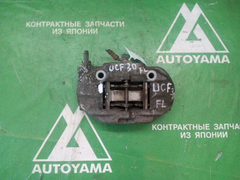 Суппорт Toyota Celsior UCF30 3UZFE передний левый (б/у)