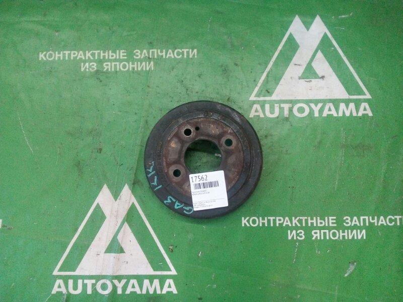 Тормозной барабан Honda Logo GA3 D13B задний (б/у)