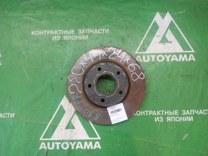 Тормозной диск Nissan Lafesta B30 MR20 передний (б/у)