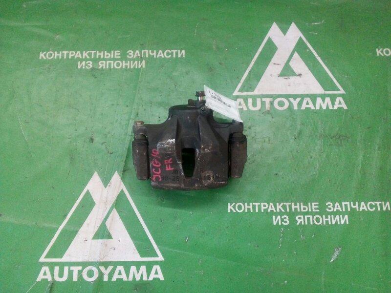 Суппорт Toyota Brevis JCG10 передний правый (б/у)