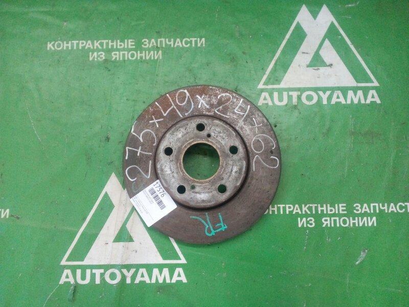 Тормозной диск Toyota Brevis JCG10 передний (б/у)