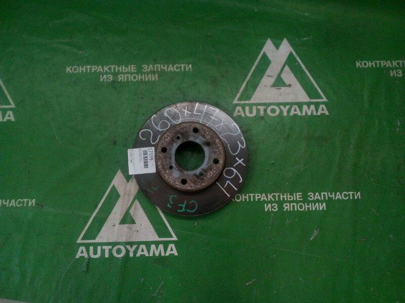 Тормозной диск Honda Accord CF3 F18B передний (б/у)
