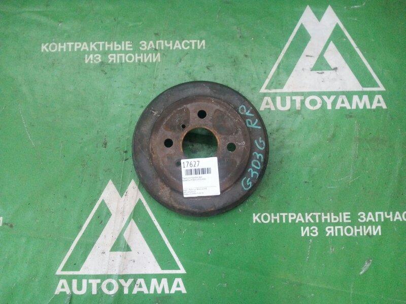 Тормозной барабан Daihatsu Pyzar G303G HEEG задний (б/у)
