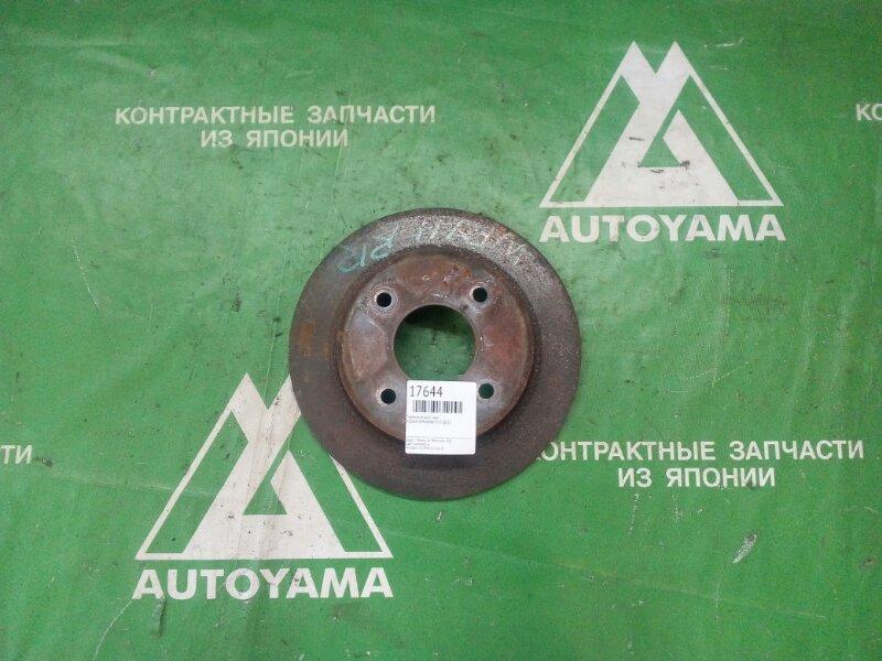 Тормозной диск Nissan Wingroad Y11 QG15 задний (б/у)