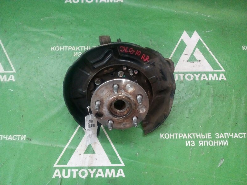 Ступица Toyota Brevis JCG10 задняя правая (б/у)