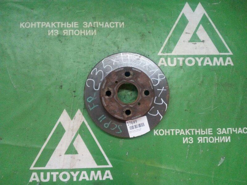 Тормозной диск Toyota Vitz SCP10 1SZFE передний правый (б/у)