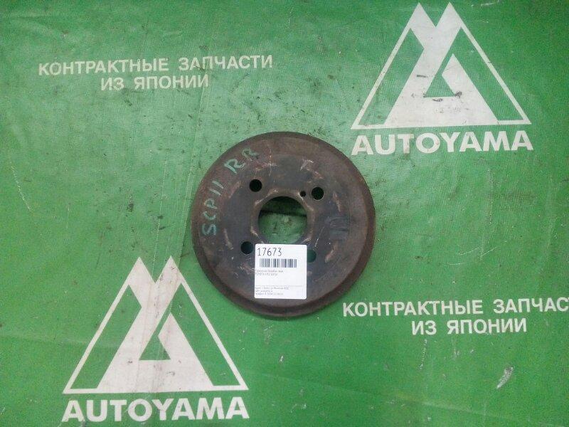Тормозной барабан Toyota Vitz SCP10 задний (б/у)