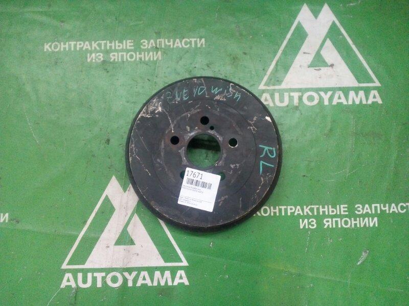 Тормозной барабан Toyota Wish ANE10 1AZFSE задний (б/у)