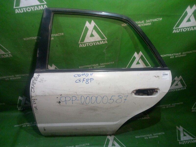Дверь Mazda Capella GF8P задняя левая (б/у)