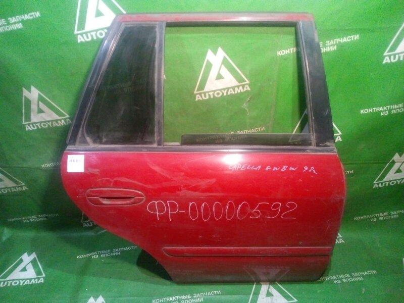 Дверь Mazda Capella Wagon GWEW задняя правая (б/у)