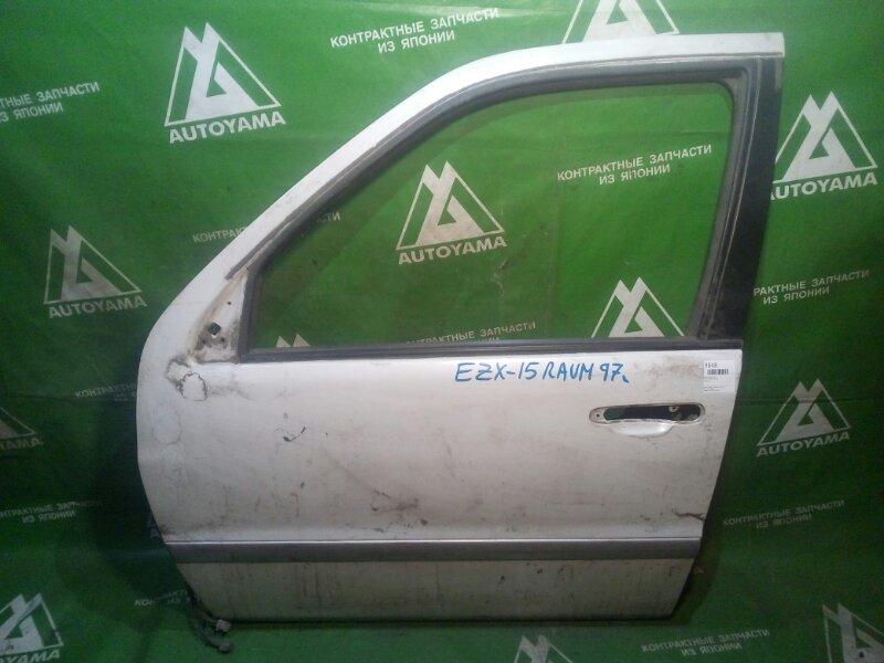 Дверь Toyota Raum EXZ15 передняя левая (б/у)