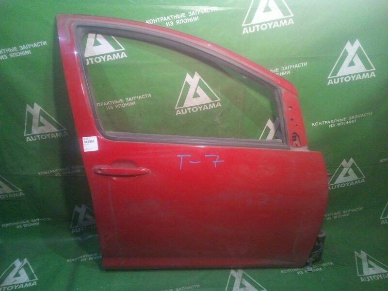 Дверь Toyota Wish ZNE10 передняя правая (б/у)
