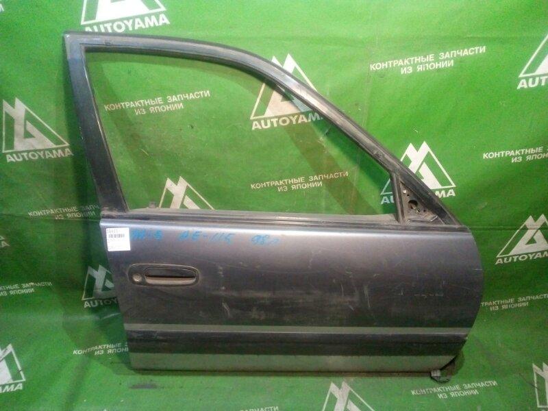 Дверь Toyota Sprinter Carib AE115 7AFE передняя правая (б/у)