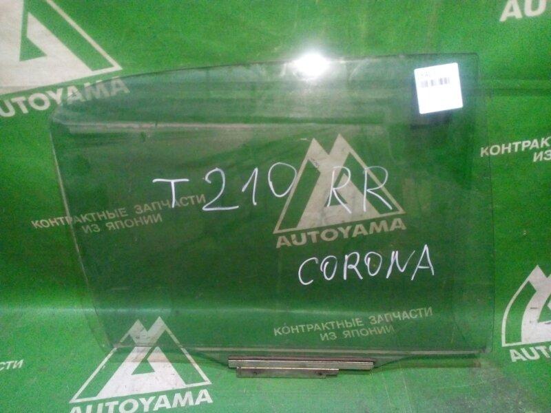 Стекло Toyota Corona Premio AT210 5AFE заднее правое (б/у)