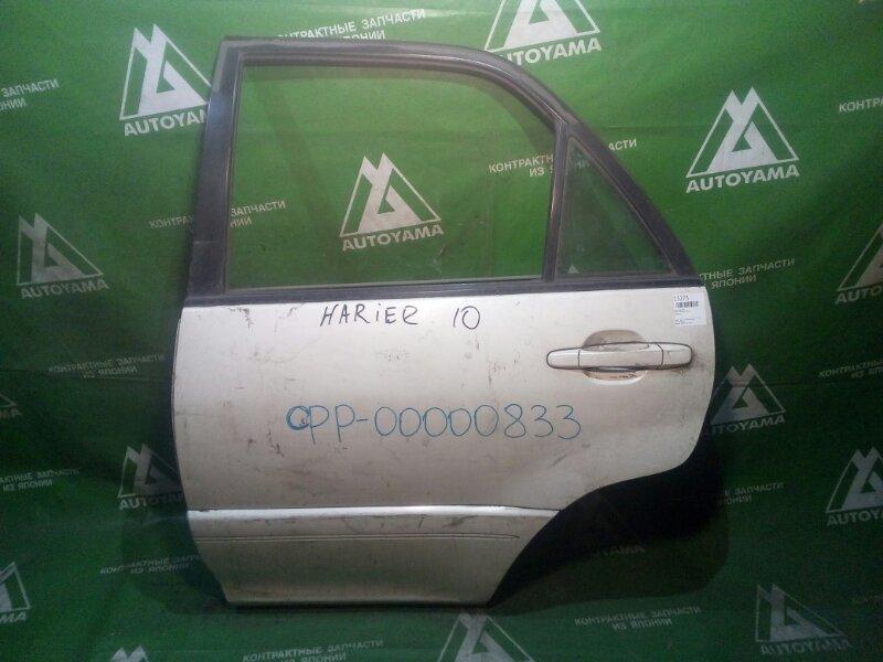 Дверь Toyota Harrier SXU10 задняя левая (б/у)