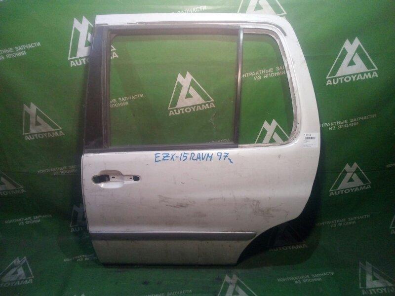 Дверь Toyota Raum EXZ15 задняя левая (б/у)
