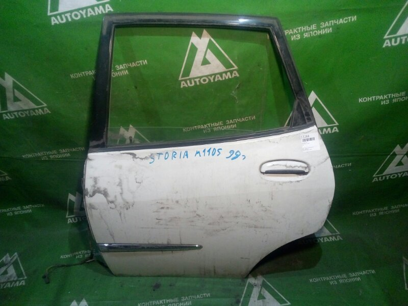Дверь Toyota Duet M100A задняя левая (б/у)