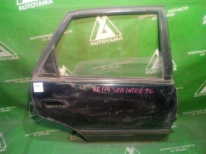 Дверь Toyota Sprinter AE110 задняя правая (б/у)