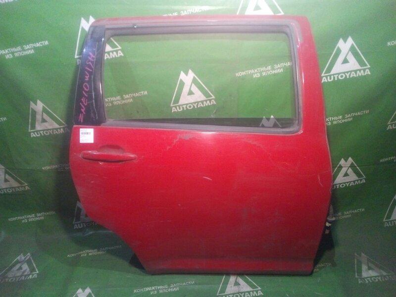 Дверь Toyota Wish ZNE10 задняя правая (б/у)