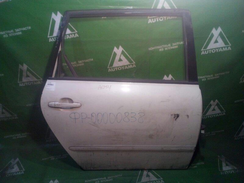 Дверь Toyota Ipsum ACM21 задняя правая (б/у)