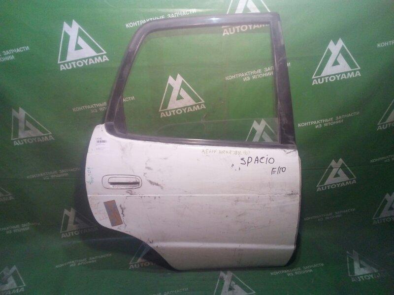Дверь Toyota Corolla Spacio AE111 задняя правая (б/у)