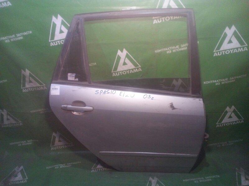 Дверь Toyota Corolla Spacio ZZE122 задняя правая (б/у)