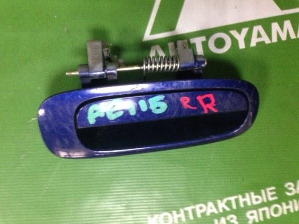 Ручка двери внешняя Toyota Sprinter Carib AE115 7AFE 1997 задняя правая (б/у)
