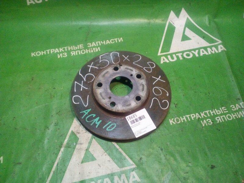Тормозной диск Toyota Gaia ACM10 передний (б/у)