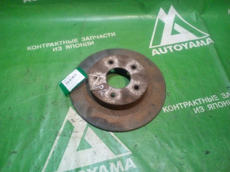 Тормозной диск Nissan Primera P12 задний (б/у)