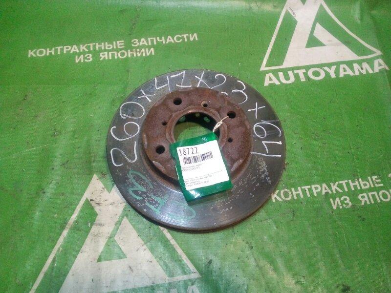 Тормозной диск Honda Accord CF3 передний (б/у)