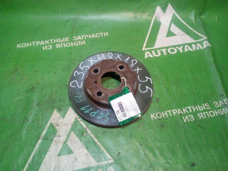 Тормозной диск Toyota Vitz SCP11 передний (б/у)