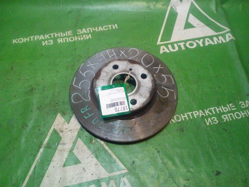 Тормозной диск Toyota Funcargo NCP20 передний (б/у)
