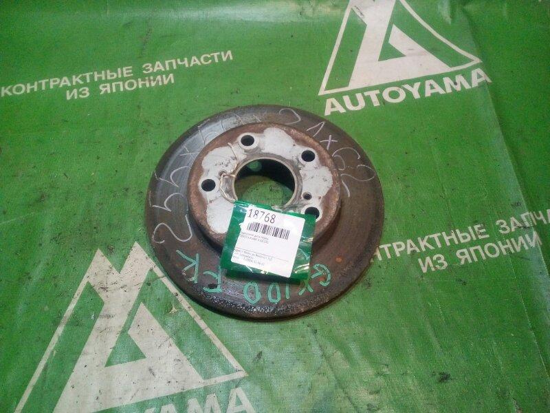 Тормозной диск Toyota Mark Ii GX100 передний (б/у)