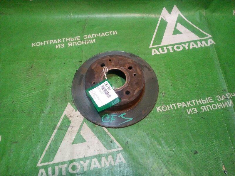Тормозной диск Honda Accord CF3 задний (б/у)
