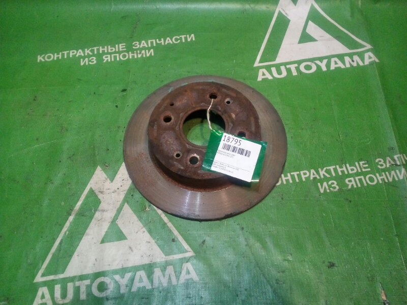 Тормозной диск Honda Accord CF5 задний (б/у)