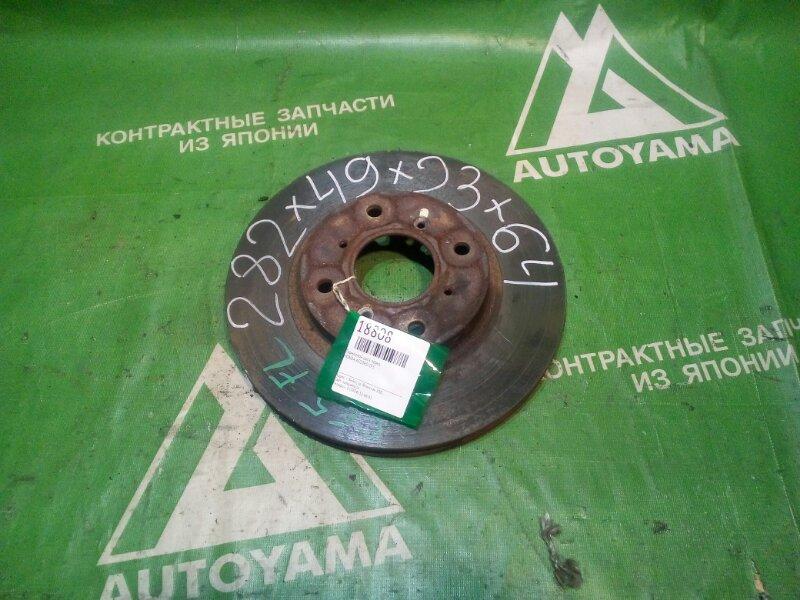 Тормозной диск Honda Accord CF5 передний (б/у)