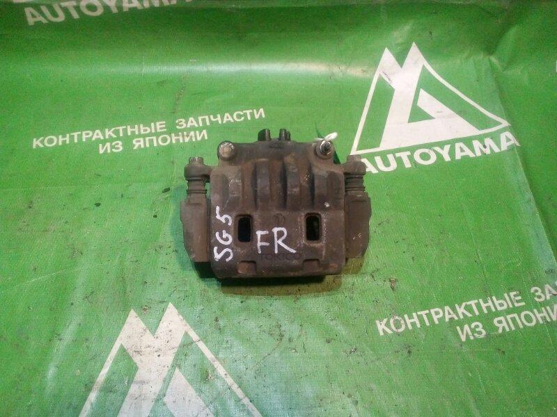 Суппорт Subaru Forester SG5 передний правый (б/у)
