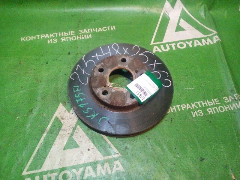 Тормозной диск Toyota Crown JKS175 передний (б/у)