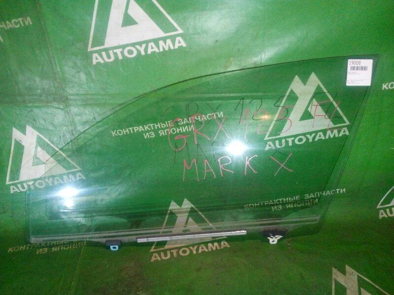Стекло Toyota Mark X GRX120 переднее левое (б/у)
