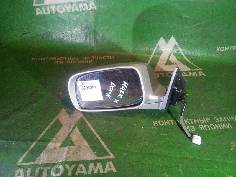 Зеркало Toyota Mark X GRX120 левое (б/у)